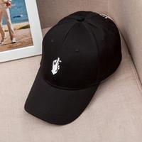 al por mayor love bends-Corea del Sur amor dedo gesto sombrero de béisbol derecho alas largas curvas aleros verano hombres y mujeres pato cap marea