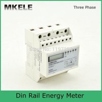 Wholesale 5 A V Small Polyphase MK LEM022SJ Mini Din Rail Electronice kWH Energy Meter