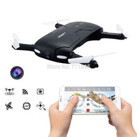 Wholesale JJRC H37 Pocket Elife Fold Portable Photography Wifi FPV With MP Camera Phone Control Selfie RC Drones RTF Helicopter