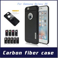 galaxy note 2 - Motomo Armor case For Samsung Galaxy S6 J5 J510 J710 J2 A510 A710 NOTE IN Carber Fiber TPU Cover