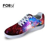 al por mayor mujeres masculinas estrella de la manera-Zapatos de Paseo Hombre Zapatos de Paseo Universo Espacio Galaxy Star Impreso Zapatos Casual Zapatos Deportivos Al Aire Libre Masculino Zapatos