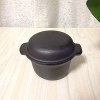 Wholesale Mini Pan inch Cast iron non stick frying pan double Use cooker