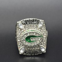 Cheap New Fashion 18K Gold Plated Silver 2010 Packers Super Bowl championship rings for Men Collection