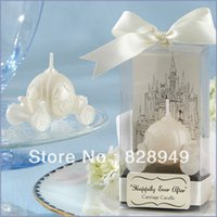 baby carriage candle - wedding favor candle Happily Ever After Carriage Candle Favor baby shower party favour guest gift
