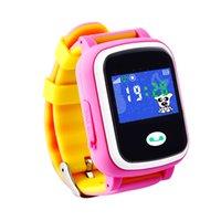 GPS Smartwatch Q523 1.0 pulgadas de pantalla táctil Smart Watch niños SOS localización de la ubicación del dispositivo de seguimiento del dispositivo Anti Lost Monitor PK Q50 Q60 Q80 Q90