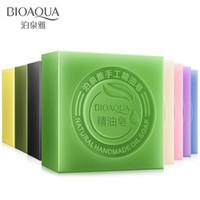 Wholesale 2016 New product Hot sales BIOAQUA essential oil soap pure handmade plant essence oil soap g