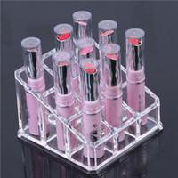 Wholesale Lipstick Organizer Nail Polish Makeup Case Cosmetic Stand Display Rack Holder