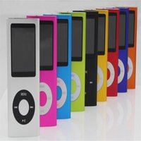 Wholesale 4th MP4 MP3 Player GB GB Inch LCD FM Radio Good servise High Quality good servise attery Player for Free dhl shipping