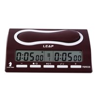 batteries for alarm clocks - Plastic Digital DC3V Chess Clock Portable Chess Alarm Timer For Tournament Chess Game QZ001R PQ9903