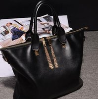 authentic handbags wholesale - Promotion European and American fashion ladies handbag authentic large chain travel bag high quality
