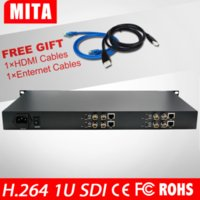 Wholesale DHL Channels HD G SDI Video Audio Encoder H With Channel HD G SDI Loop Out