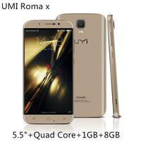 Wholesale UMI ROME X inch IPS HD G WCDMA Quad Core MTK6580 GHz GB GB Android MP Camera WiFi Smartphone