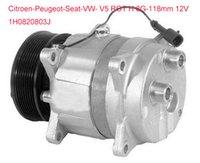Wholesale V5 car air conditioning compressor for Citroen Peugeot Seat VW H0820803J