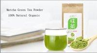 Wholesale 50g Matcha Green Tea Powder Natural Organic slimming Tea Reduce Weight Loss Food And Health