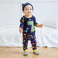 baby pajama patterns - Baby Kids Pajama Set Spring Autumn Winter Cartoon Animal Stars Pattern Clothing Sets New Fashion Cotton Sleepwear