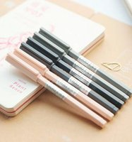 angels ink - Simple six angel bar neutral pen The needle black pen pen mm students
