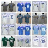 Wholesale Kansas City Royals Flexbase Jersey Eric Hosmer Lorenzo Cain Program Authentic Collection Baseball Jerseys