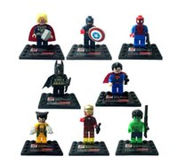 Wholesale Christmas Gifts Super Hero Figures Toys The Avengers Toys Big Hulk Hobbies Classic Action Figures DIY Building Blocks Bricks Minifigures