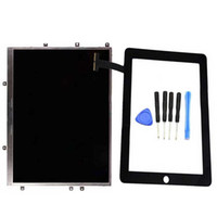 Wholesale LCD For Inch iPad st Gen A1337 A1219 LCD Display Touch Screen Repair Parts For iPad st Gen A1337 A1219 G wifi Black