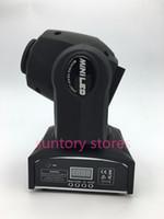 Wholesale pieces LED Inno Pocket Spot Mini Moving Head Light W DMX dj gobos effect light