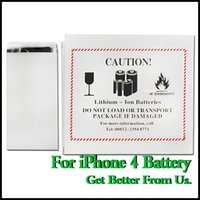 Wholesale No Taxes Brand New Phone Battery For iPhone S Real Capacity mAh High Quality UPS