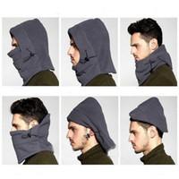 Precio de Cráneo del sombrero del esquí-Invierno cálido abrigo polar sombreros para los hombres cráneo bandana cuello más cálido balaclava esquí snowboard máscara facial, Wargame máscara de las fuerzas especiales