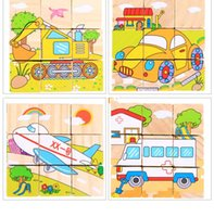 Wholesale The new listing of wood three dimensional puzzle children s educational toys wooden toys Parents can let the children practice spell a pa