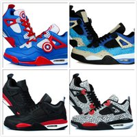 america floor - Hot Air Retro Trainer Captain America Male s Basketball Shoes cookie monster Sports Sneakers Temporal Rift by Infrared Footwear