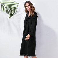 Wholesale 2017 new women s clothing department of Europe and the United States wish with long sleeved dress