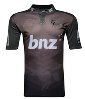 Wholesale 2017 Crusaders rugby Jerseys home away jerseys New Zealand top quality euro size S XL