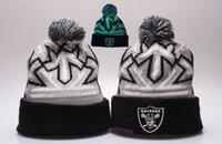 Wholesale Free ship Winter Raiders Cotton Oakland Beanies Cap Gorros Embroidery Knitted Hat For adult Casual Warm Knit Cap Wool Hats