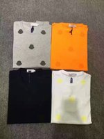 Wholesale M172 newLuxury Mens Mon polo Brand British t shirt Summer short sleeve tshirt marque luxe homme Franch men Costume Clothing m xxxl