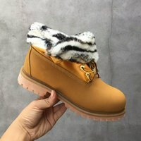 best cowboy boots for women - Hot Classic Wheat Yellow Lapel Zebra add Wool g Boots Women Mens for Best quality Fashion Outdoor Casual Snow Boot Size