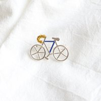 bicycle brooch - Bicycle Brooches for Women Men Unisex silver plated alloy pins metal Brooches pins New Fashion design Jewelry for gifts