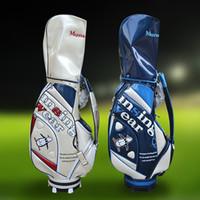 Wholesale Munsingwear Golf Bag for Men and Women High end Crystal press mould Golf Caddy Bag Laides Golf Club Bags