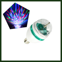 auto umbrellas - E27 Mini RGB LED Blubs LED Effects Stage Lighting Auto Sound activated Full Color Rotating Lamp Disco Party Bar Club Effect Lights