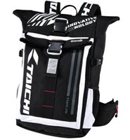 backpack led light - 2017 New high quality TAICHI RSB272 LED Light Motorcycle Bag Waterproof Motorcycle Daily Backpack Travel Bag for men women