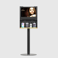apple iphone event - Floor Stand quot Digital Screen Advertiser Mobile Charging Station With Advertising Management Program For the Home Office Events