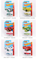 Wholesale 48pcs Hot Wheels Cars Hotwheels Model Car Miniatures Race Workshop City OFF Road Model Vehicle Toys For kids