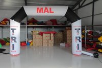 Wholesale lowest price customized made inflatable Christmas arch event entrance m m m mevent or race arches tarpaulin advertising inflatables