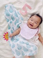 Unisex bedding boys - Newborn Swaddle Bedding Blanket Unisex Baby Cotton Bath Beach Towels Nursery Bedding Multifunctionals Supplies