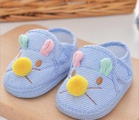 Unisex Spring / Autumn Cotton Baby mice first walkers shoes soft breathable children summer kids cotton casual shoes