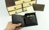 Wholesale wallets Hot Sell and retail new PU Leather mens and womens wallets purse card Holders