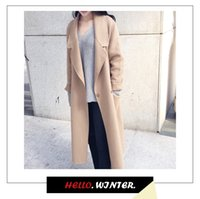 Wholesale Hot Sale Camel Women Casual Clothes New Arrival Fashion Silm And Long Sleeve Winter Coat