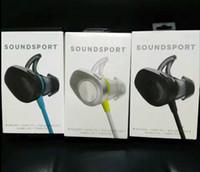 Wholesale Bluetooth Soundsport wireless sport headphone earphones noisecancelling in ear headphones