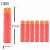 Wholesale 6Pcs x2cm Red Refill Foam Soft Bullet Darts For Nerf N Strike Elite Mega Centurion Kids Toys