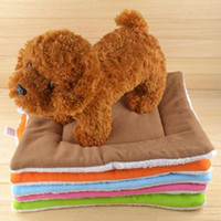 Wholesale Warm Dog Mats Kennel Blanket Cushion Machine Washable Standard Pet Pad Of Dog House Bed Cat Nest Car Seat Cover x cm