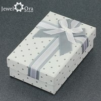 Wholesale Jewelry Gift Boxes Packaging Bow Box AS100132