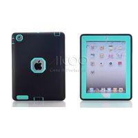 air print apple - iPad Air Dual Layer Silicon Gel Impact Robot Hard Back Cover for ipad mini Fire HD