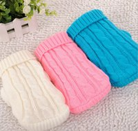 Wholesale Delicate Pet Dog Cat Clothes Winter Warm Knitwear Sweater for Dogs Hot Selling JF